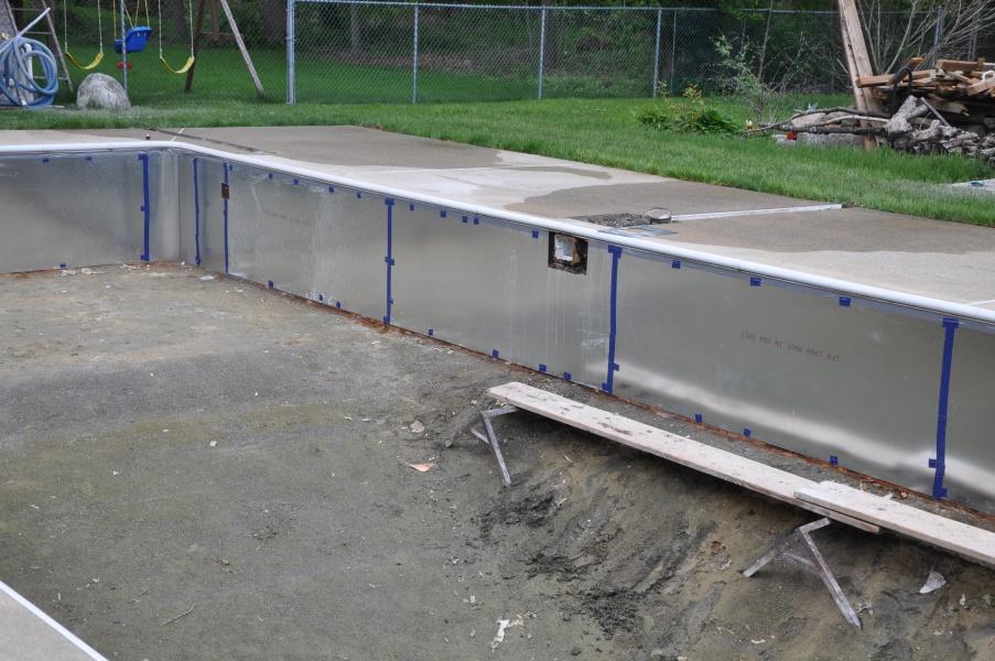Vinyl Pool Renovation Beverly Ma American Pool Service