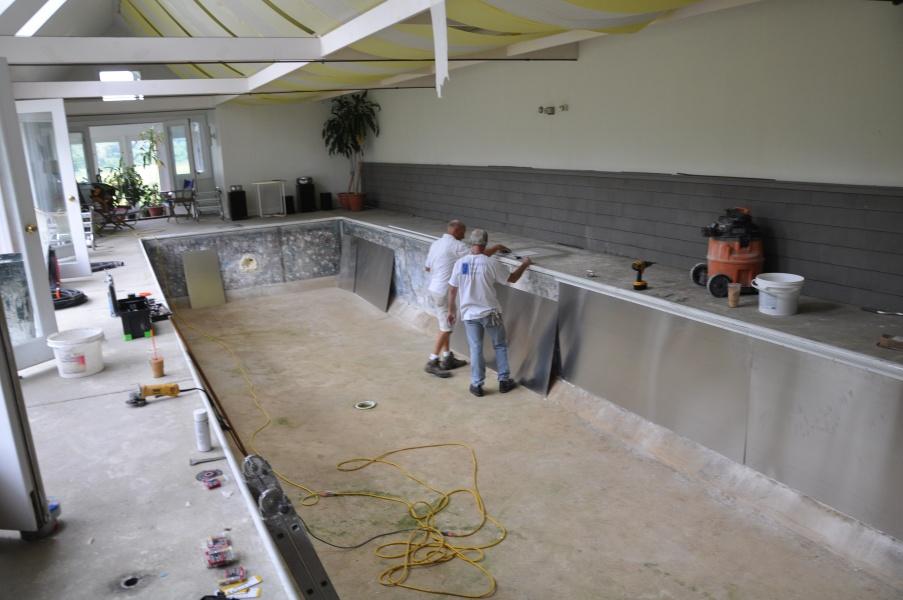 Vinyl Liner Wall Repair Ipswich Ma American Pool Service
